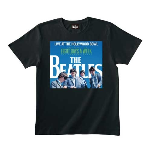 ザ・ビートルズ / The Beatles Live At The Hollywood Bowl Cover Black Tee【Tシャツ】