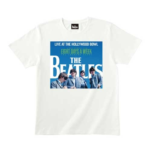 ザ・ビートルズ / The Beatles Live At The Hollywood Bowl Cover White Tee【Tシャツ】