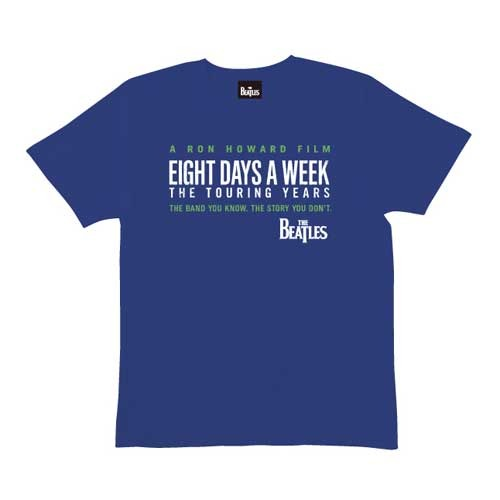 ザ・ビートルズ / The Beatles Eight Days A Week Logo Navy Tee【Tシャツ】