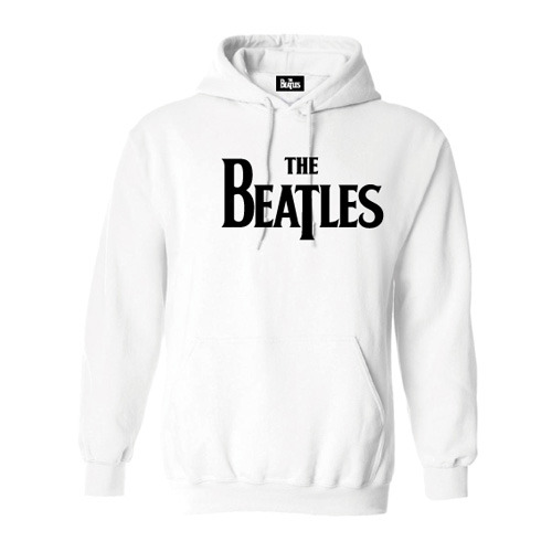 ザ・ビートルズ / The Beatles Logo Parka White【パーカ】