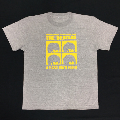 ザ・ビートルズ / The Beatles A Hard Days Night Tee Grey【Tシャツ】