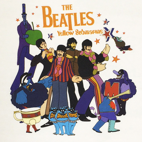 ザ・ビートルズ / The Beatles Yellow Submarine Tee【Tシャツ】