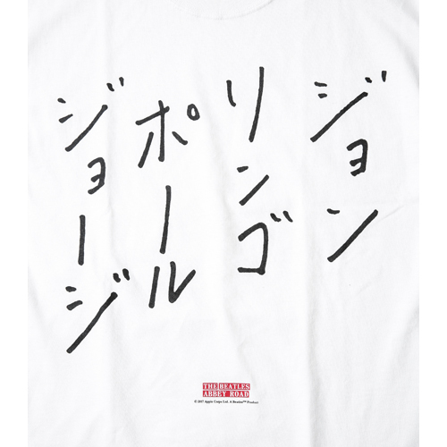 ザ・ビートルズ / The Beatles F-LAGSTUF-F Abbey Road S/S Tee White