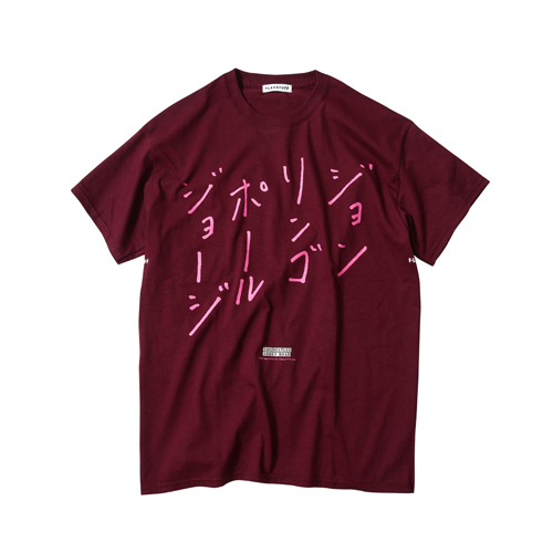ザ・ビートルズ / The Beatles F-LAGSTUF-F Abbey Road S/S Tee Deep Red