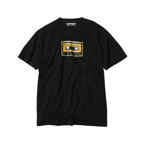 ザ・ビートルズ / The Beatles criBoozer Yellow Tape Box S/S Tee Black