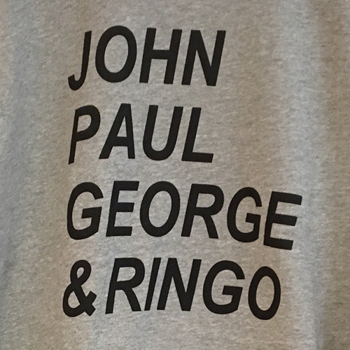 ザ・ビートルズ / The Beatles John Paul George & Ringo Sweat Shirt Grey【スウェットシャツ】