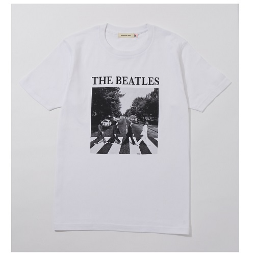 ザ・ビートルズ / Abbey Road Cover Tee (T-Shirts / White)