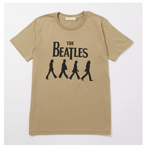 ザ・ビートルズ / Abbey Road Silhouette Tee (T-Shirts / Olive)