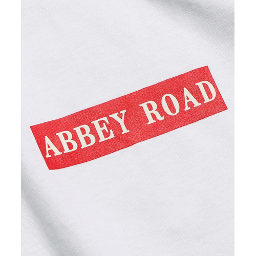 ザ・ビートルズ / Abbey Road Box Logo S/S Tee Black (T-Shirt / Black)