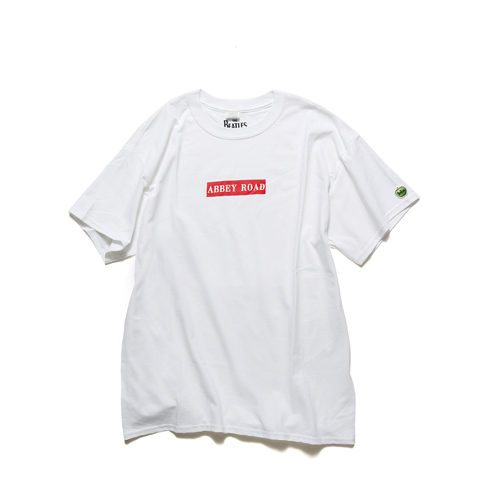 ザ・ビートルズ / Abbey Road Box Logo S/S Tee White (T-Shirt / White)