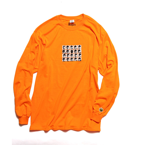 ザ・ビートルズ / A Hard Days Night L/S Tee Orange (T-Shirt / Orange)