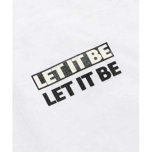 ザ・ビートルズ / Let It Be Logo L/S Tee Yellow (T-Shirt / Yellow)