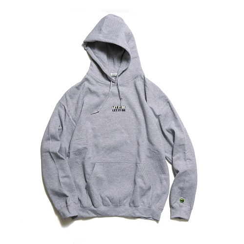 ザ・ビートルズ / Let It Be Logo Hoodie Grey (Hoodie / Grey)