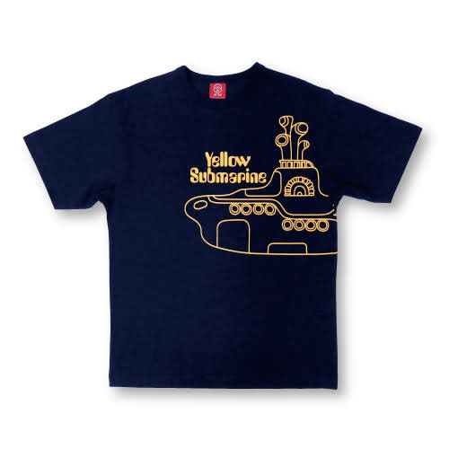 ザ・ビートルズ / Ojico Yellow Submarine Tee (T-shirt)【ネイビー】