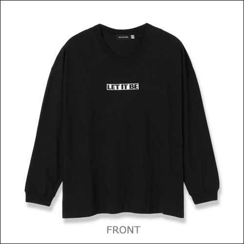 ザ・ビートルズ / Let It Be L/S Tee【T-shirt】【Black】