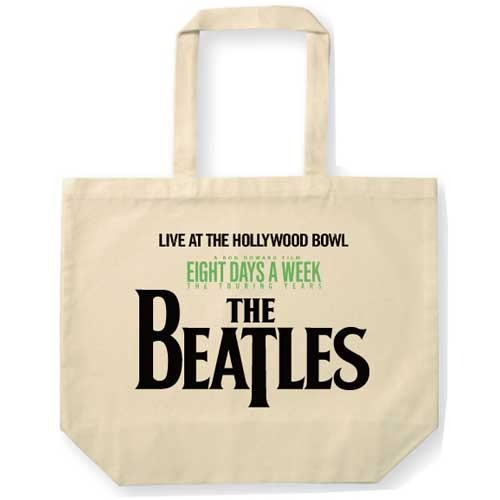 ザ・ビートルズ / Live At The Hollywood Bowl Logo Tote Natural【トートバッグ】