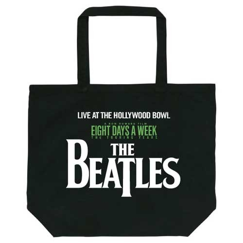 ザ・ビートルズ / Live At The Hollywood Bowl Logo Tote Black【トートバッグ】
