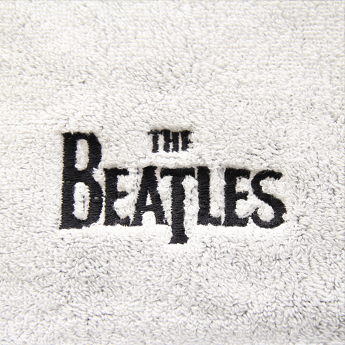 ザ・ビートルズ / The Beatles One-Point Embroidery Logo Sport Towel White【タオル】