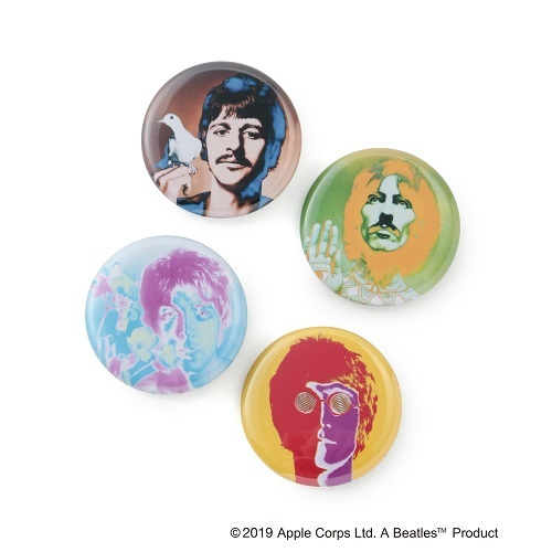 ザ・ビートルズ / bonjour records Badge Set (Badge / Multicolored)