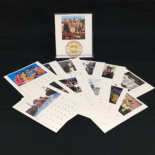 ザ・ビートルズ / The Beatles Table Calendar 2017