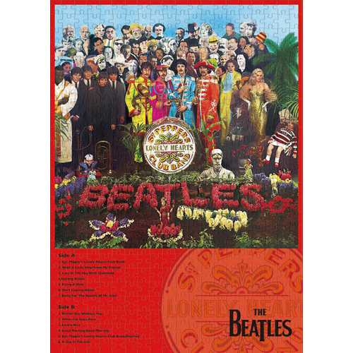 ザ・ビートルズ / Sgt. Pepper's Lonely Hearts Club Band 500 pieces Jigsaw Puzzle【ジグソーパズル】