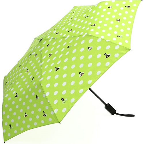 ザ・ビートルズ / Yellow Submarine Polka Dot Umbrella (Green)【傘】