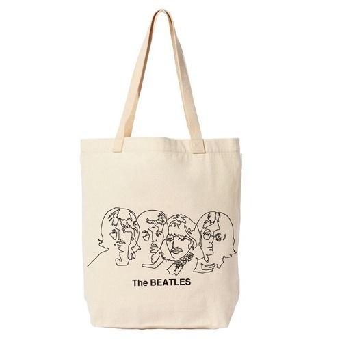 ザ・ビートルズ / Line Drawing Tote (Tote / Off-White)