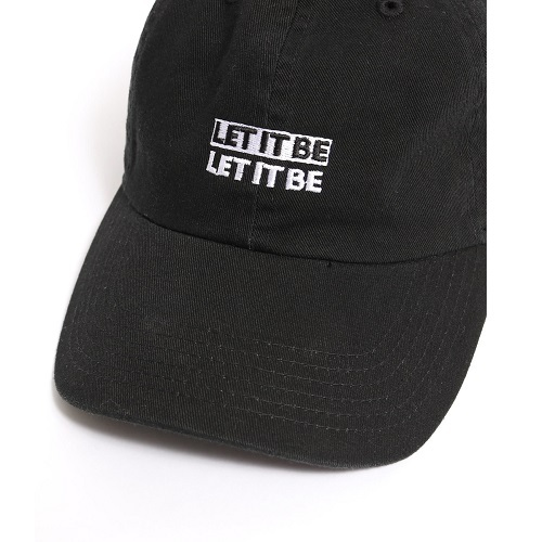 ザ・ビートルズ / Let It Be Cap Black (Cap / Black)【FREE】