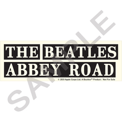 THE BEATLES STORE / Abbey Roadステッカー