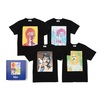 ザ・ビートルズ / bonjour records T-shirt Box Set (T-shirts / Black)