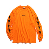 ザ・ビートルズ / Help! Logo L/S Tee Orange (T-Shirt / Orange)