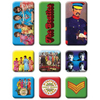ザ・ビートルズ / The Beatles Sgt Pepper 9pce Fridge Magnet Set【マグネット・セット】